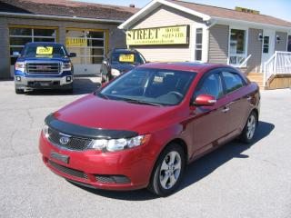 Used 2010 Kia Forte EX AUTO SUNROOF for sale in Smiths Falls, ON