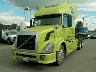 Used 2012 Volvo VNL D13 Highway Tractor and Sleeper Cab for sale in Burnaby, BC