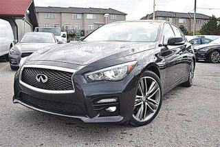 Used 2014 Infiniti Q50 SPORT,AWD,NAVI,LOADED for sale in Aurora, ON