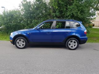 Used 2007 BMW X3  3.0I LEATHER SUNROOF LOADED CERTIFIED $7475 for sale in Scarborough, ON