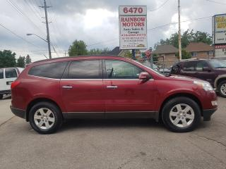 Used 2011 Chevrolet Traverse LT 7SEATER SUNROOF LOADED LOW KMS  $13475 for sale in Scarborough, ON