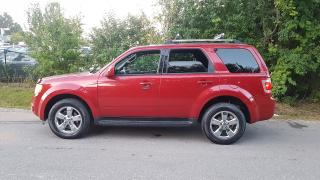 Used 2010 Ford Escape Limited 4WD .LEATHER SUNROOF BLUETOOTH CERTIFIED $6975 for sale in Scarborough, ON