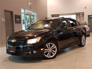 Used 2013 Chevrolet Cruze LT RS-SPORT-LEATHER-SUNROOF-CAMERA-ONLY 66KM for sale in York, ON