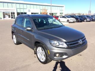 Used 2015 Volkswagen Tiguan COMFORTLINE for sale in Calgary, AB