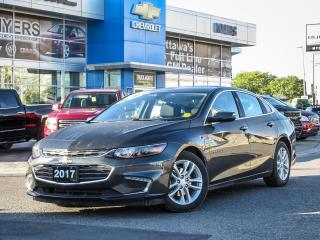 Used 2017 Chevrolet Malibu LT,REAR VISION CAMERA, MYLINK *AMAZING SHAPE!* for sale in Ottawa, ON