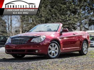 Used 2008 Chrysler Sebring CONVERTIBLE Touring for sale in Stittsville, ON