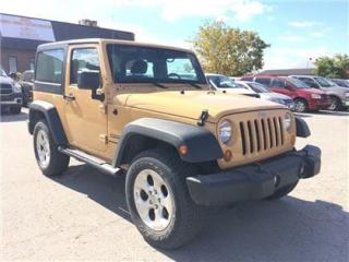 Used 2013 Jeep Wrangler Sport Hardtop, Side Steps, Only 53, 000 KMS !!! for sale in Concord, ON