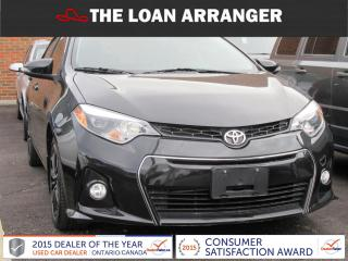 Used 2014 Toyota Corolla S for sale in Barrie, ON