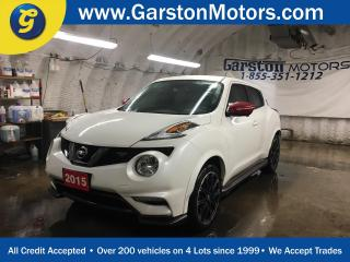 Used 2015 Nissan Juke NISMO RS*CVT*AWD*RECARO BUCKET SEATS*NAVIGATION*BACK UP CAMERA w/360 VIEW*ALLOYS*PHONE CONNECT*ROCKFORD FOSGATE AUDIO* for sale in Cambridge, ON