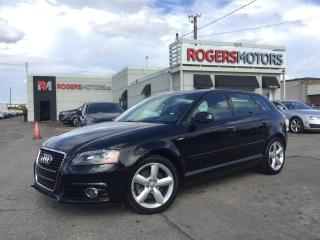 Used 2013 Audi A3 2.0T QTRO S-LINE - LEATHER - PANORAMIC ROOF for sale in Oakville, ON