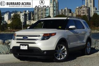 Used 2013 Ford Explorer Limited 4D Utility V6 4WD Leather, Sunroof, Navigation! for sale in Vancouver, BC