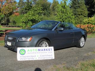 Used 2011 Audi A5 A5, Prem Plus, AWD, Warr for sale in Surrey, BC