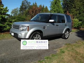 Used 2011 Land Rover LR4 HSE Luxury 7 Pass, Insp, Warr for sale in Surrey, BC