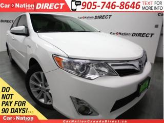 Used 2013 Toyota Camry HYBRID XLE| NAVI| LEATHER| SUNROOF| BACK UP CAM| for sale in Burlington, ON