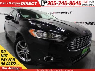Used 2016 Ford Fusion Energi Titanium| NAVI| LEATHER| SUNROOF| for sale in Burlington, ON