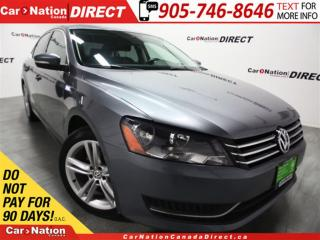 Used 2014 Volkswagen Passat 1.8 TSI Comfortline| LEATHER| SUNROOF| for sale in Burlington, ON