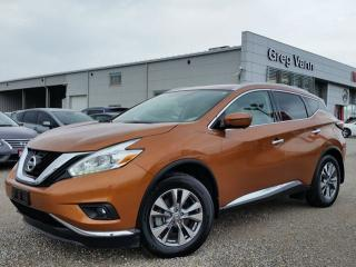 Used 2016 Nissan Murano SL AWD w/NAV,all leather,pwr group,rear cam,climate control,panoramic roof for sale in Cambridge, ON