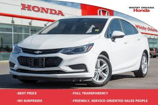 Used 2016 Chevrolet Cruze LT AUTO for sale in Whitby, ON
