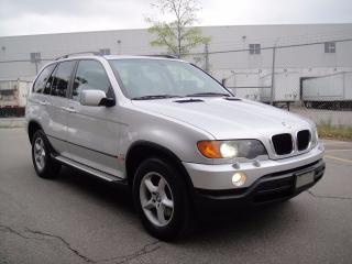 Used 2003 BMW X5 3.0i SPOTLESS-FULLY LOADED,ZERO ACCIDENTS,MINT for sale in North York, ON