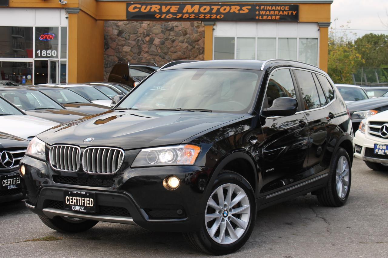 2013 BMW X3 xDrive35i **NO ACCIDENT/PANO/XENON/PARKTRONIC**