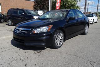 Used 2012 Honda Accord EX-L.One Owner.Carproof Clean.Warranty Available. for sale in Brampton, ON