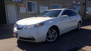 Used 2010 Acura TL w/Tech Pkg-NAVIGATION-SUNROOF-LTHR-BACKUP CAMERA for sale in Tilbury, ON