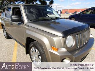 Used 2008 Jeep Patriot SPORT - 4WD - 2.4L for sale in Woodbridge, ON