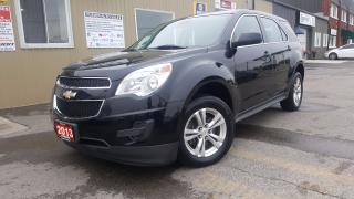 Used 2013 Chevrolet Equinox LS-BLUETOOTH-INFO SYSTEM-ALLOY WHEELS for sale in Tilbury, ON
