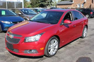 Used 2011 Chevrolet Cruze LTZ Leather Sunroof Bluetooth for sale in Brampton, ON