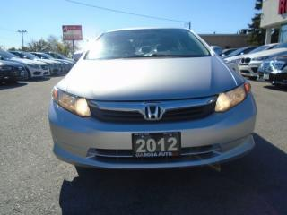 Used 2012 Honda Civic LX AUX NO ACCIDENTS 4 NEW TIRES  SAFETY E TEST INC for sale in Oakville, ON