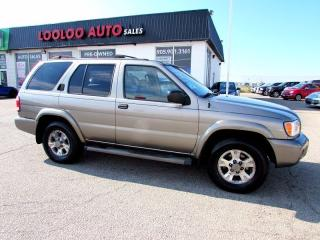 Used 2004 Nissan Pathfinder Chinook Edition 4X4 AUTOMATIC SUNROOF ALLOYS for sale in Milton, ON