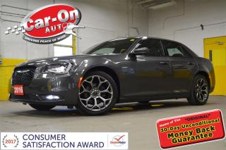 Used 2016 Chrysler 300 S LEATHER PANO ROOF NAV FULL PWR GRP LOADED for sale in Ottawa, ON