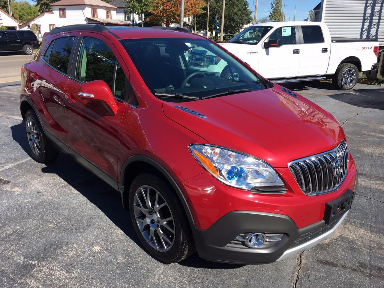used 2016 buick encore sport touring for sale in dunnville ontario. Black Bedroom Furniture Sets. Home Design Ideas