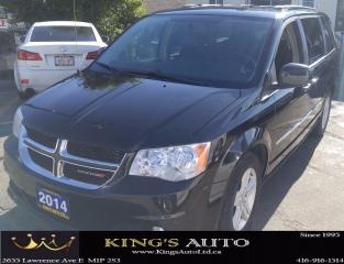 Used 2014 Dodge Grand Caravan CREW, 7 PASSENGER, HEATED SEATS, BACKUP CAM for sale in Scarborough, ON