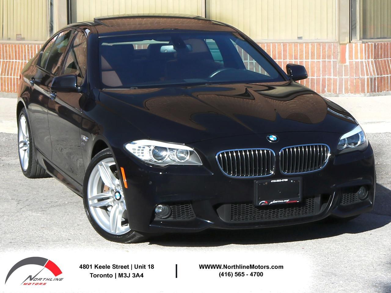2012 BMW 5 Series 535i xDrive | M Sport | Navigation | Sunroof