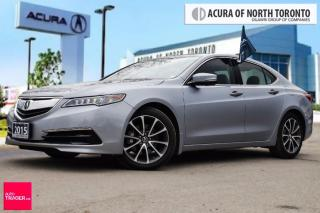 Used 2015 Acura TLX 3.5L P-AWS w/Tech Pkg Accident Free!!!Sunroof| Blu for sale in Thornhill, ON