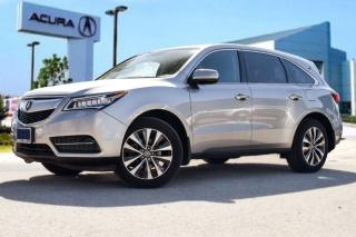 Used 2016 Acura MDX Navi WOW Super LOW KMS.. Roof Rails AND Running Bo for sale in Thornhill, ON