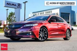 Used 2015 Acura TLX 3.5L SH-AWD w/Elite Pkg Sunroof| Bluetooth|  Backu for sale in Thornhill, ON