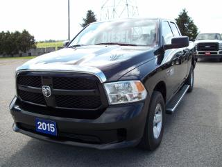 Used 2015 Dodge Ram 1500 Quad Cab 4x4 ECO DIESEL for sale in Stratford, ON