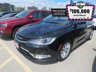 Used 2016 Chrysler 200 C - Remote Start, Leather, Heated Seats for sale in London, ON