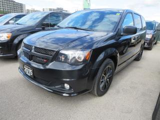 Used 2015 Dodge Grand Caravan SE Blacktop - DVD, GPS, Pwr Slidding Doors for sale in London, ON