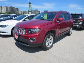 Used 2016 Jeep Compass North - 4x4, ,leather, bluetooth, Heated Seats for sale in London, ON