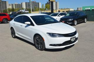 Used 2015 Chrysler 200 S - Back up cam, bluetooth, heated seats for sale in London, ON