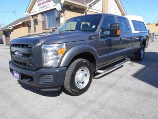 Used 2012 Ford F-250 XL Crew Cab 8FT Box High Boy Cap ONLY 33,000KMs for sale in Etobicoke, ON