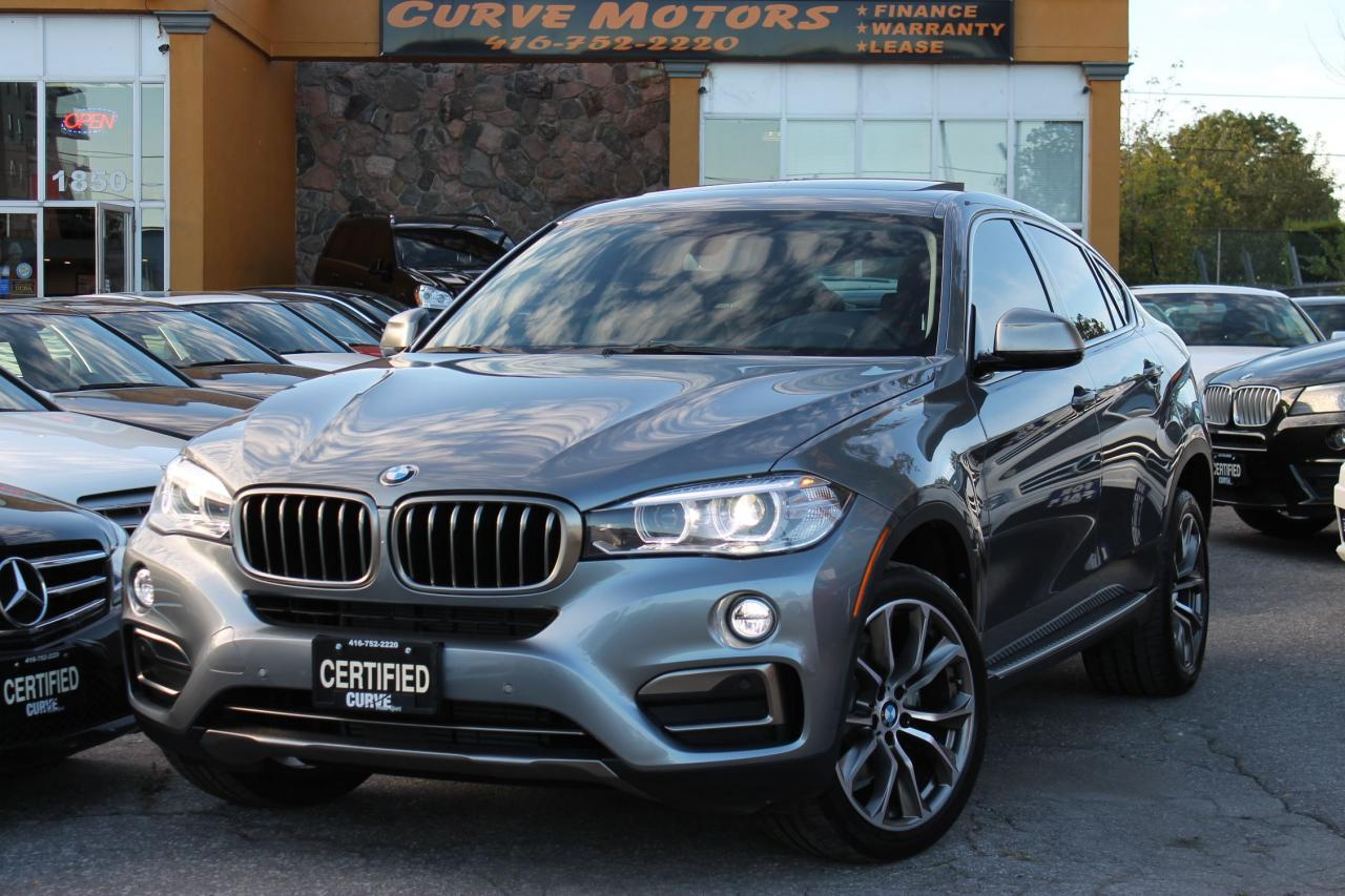 2016 BMW X6 XDRIVE35I SPORT TECH **NAVI/CAMERA/ROOF/XENON/PARK