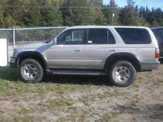 Used 2000 Toyota 4Runner SR5  4 X 4   V6 for sale in Mansfield, ON