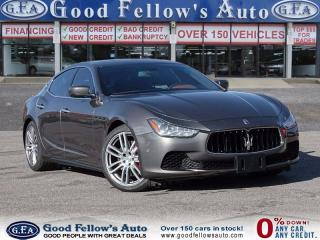 Used 2015 Maserati Ghibli Ghibli S Q4, AWD, FULLY LOADED, SPORT, NAVIGATION for sale in North York, ON