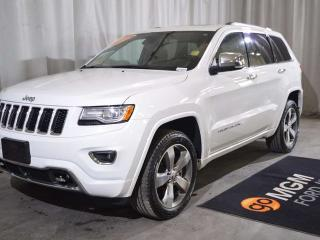Used 2014 Jeep Grand Cherokee Overland for sale in Red Deer, AB