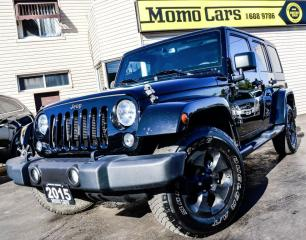 Used 2015 Jeep Wrangler Unlimited Sahara! 4X4! ONLY $248/bi-weekly! for sale in St Catharines, ON