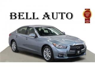 Used 2014 Infiniti Q50 PREMIUM PKG BACK UP CAMERA for sale in North York, ON